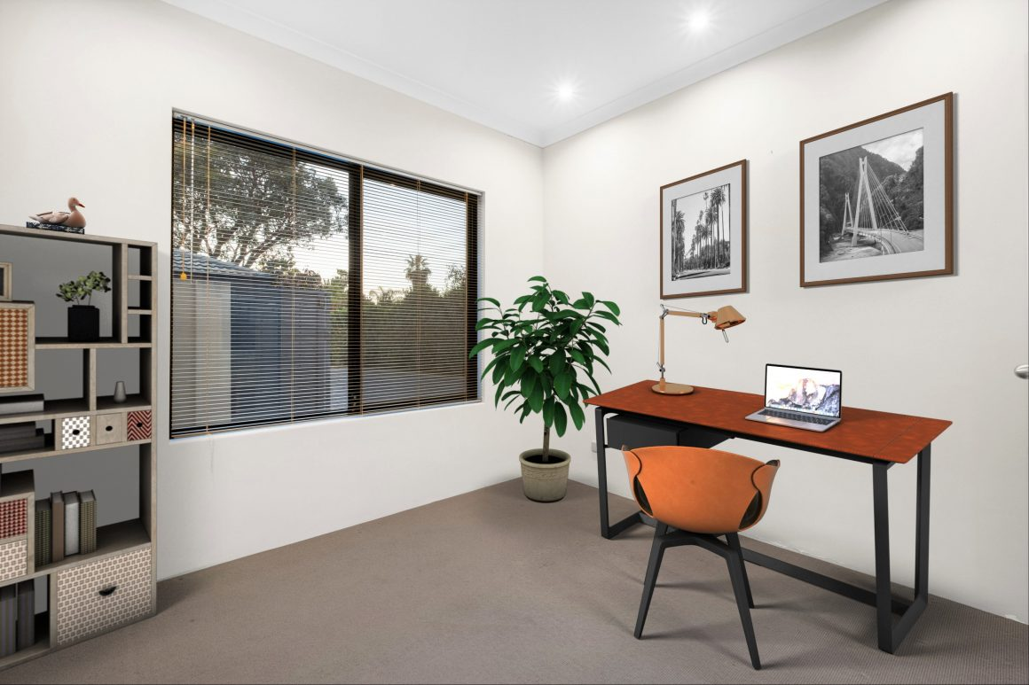 virtual staging home office