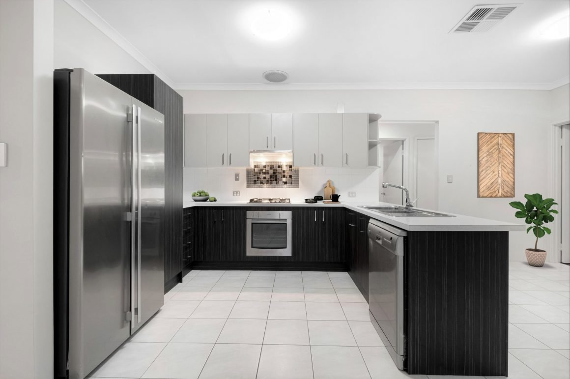virtual staging kitchen for house sale